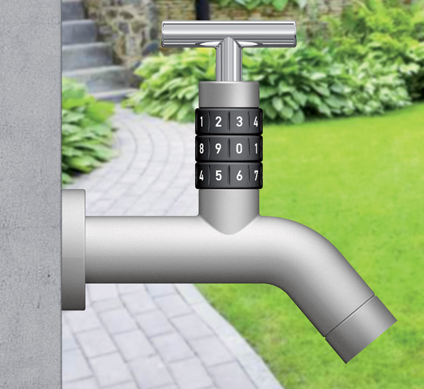 LOCKO – Outdoors Faucet Lock Design by Arman Emami  & Emami Design