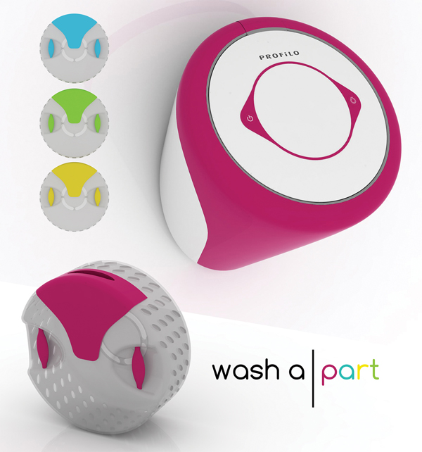 Washa|part - Washing Machine by Buse Üstün & Fulya Pekserbes