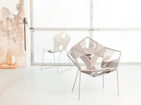 COD Collection - Woven Seating by Rami Tareef for Gaga & Design