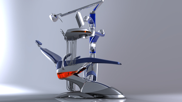 Riunito Dentale - Dental Chair by Valerio Tonel