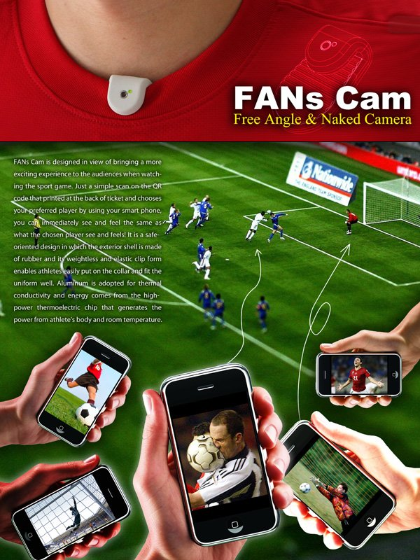 FANs Cam – Concept Camera by Sheng-Hung Lee & Chan Wai Yeh
