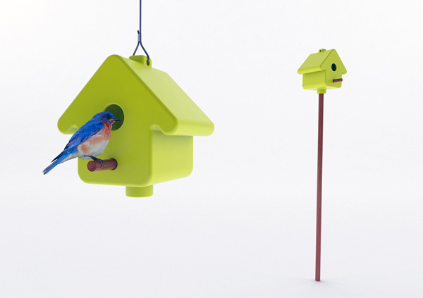Picto Birdhouse by Laure Joye & Nicolas Bonnet