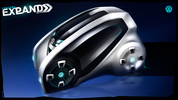 Volkswagen Expand - Concept Car by Luiz Antonelli