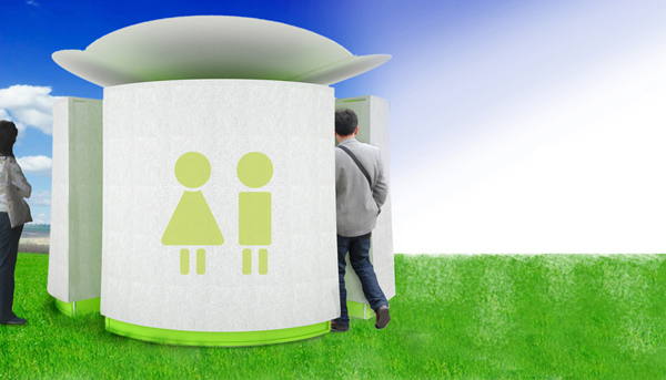 FACETOCH - Public Toilet by Clément Laurence