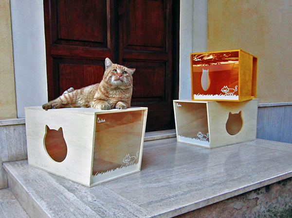 Qcha - Cat House by Daniela Ogis, Stefano Ogis, & Fabrizio Fillo