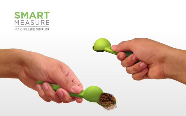 Smart Measure - Measuring Spoon by Juan Jimenez