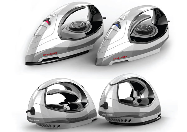 Clothing iron with retractable heat yanko design - How to unwrinkle your clothes with no iron ...