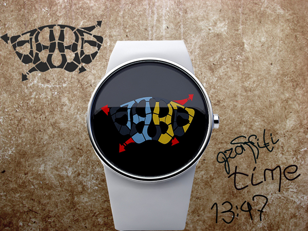 Graffiti - Watch Concept by Andy Kurovets