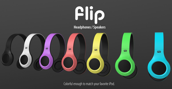 Flip Headphones by Oliver Sha