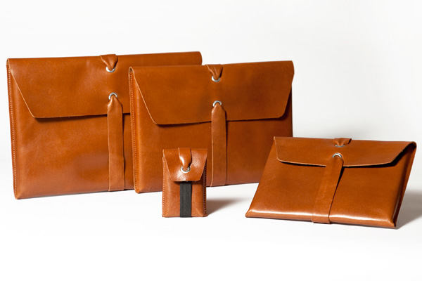 Carga Leather MacBook Sleeves by Mauro Bianucci