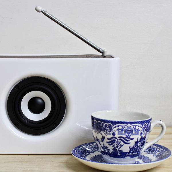 Josiah DAB Radio and Bluetooth Speaker by Kwame Ferreria and Yayo