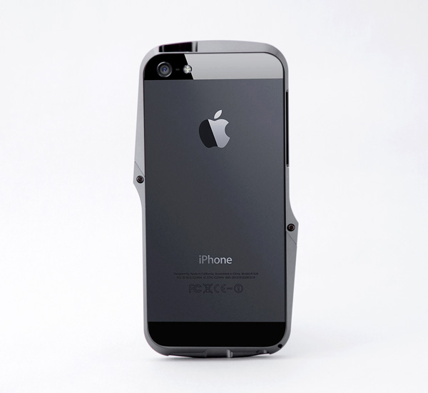 Ag++ Metal Bumper Aluminum Case for iPhone 5 by Andrea Ponti