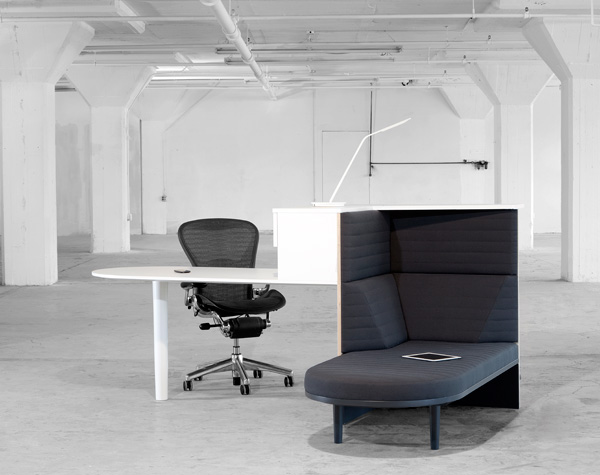 Integrated Workstation by Matthew Plumstead