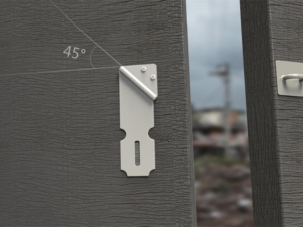 45° Door Catch – Latch Redesign by Liu Xiangyu, Prof. He Xiaoyou, Ma Xiaodong, Geng Tao, Tang Xiaobo, Yu Lu, Zhang Ye, He Fang, Han Ya & Tang Hui