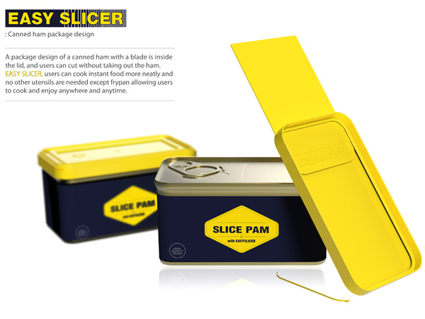 Easy Slicer – Ham Can Packaging Design by Ikmo Kwon