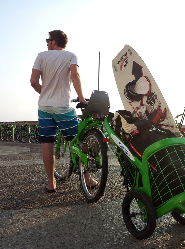 Tel-O-Porter - Urban Bike Trailer by Udi Rimon