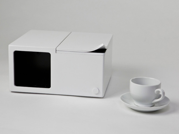 Single Cup Coffee Maker by Kay Heekyung Kim