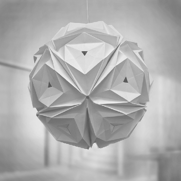 origami light fixture 28 images geometric origami ls