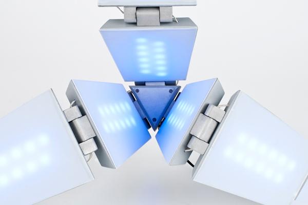 Shape Shifting Solar Lamp Yanko Design