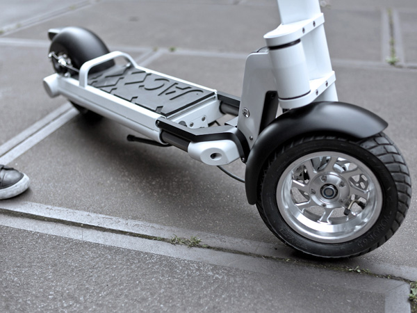 JAC< Foldable Electric Powered Scooter by Springtime