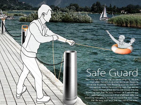 Safe Guard – Water Buoy by LiuYi, Xu Wei, Meng Luhua & Li Ke