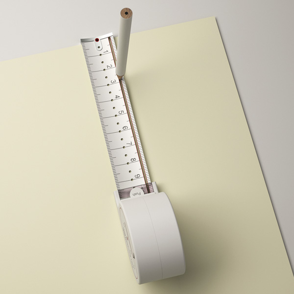 Yanko Design Top 50 – Best Of 2012 - image 24-Hole-Measuring-Tape-by-Sunghoon-Jung on http://bestdesignews.com