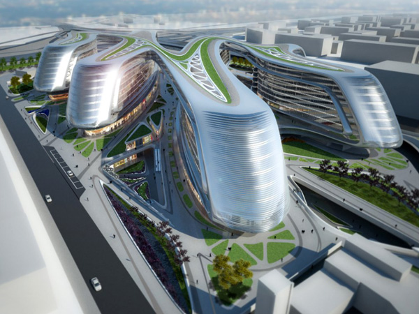 Yanko Design Top 50 – Best Of 2012 - image 34-Five-Architecture-Projects-for-China-by-Zaha-Hadid-Architects on http://bestdesignews.com