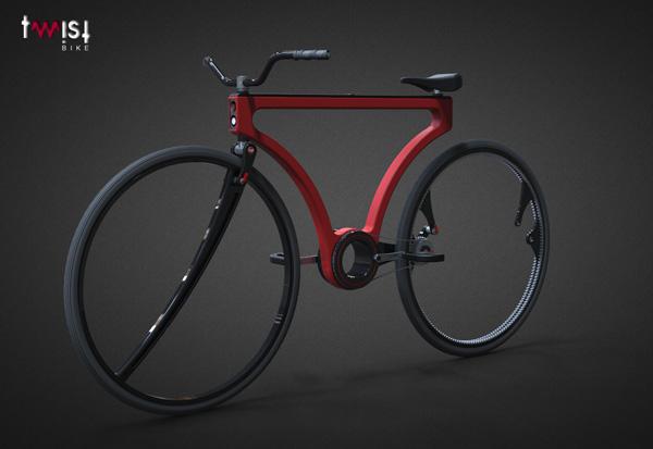 Yanko Design Top 50 – Best Of 2012 - image 36-Twist-Bike-by-Jose-Hurtado on http://bestdesignews.com