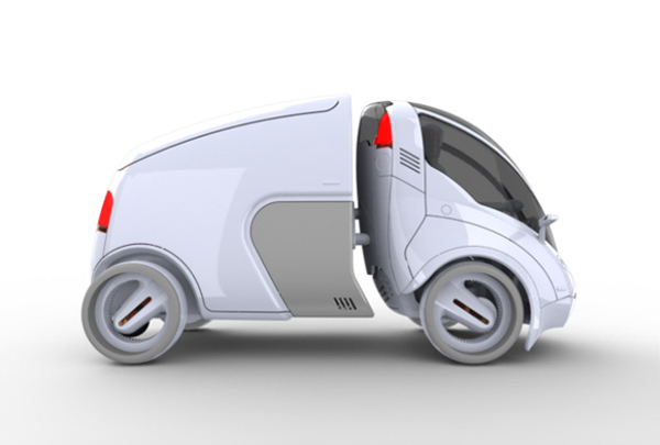 ultra compact car share yanko design. Black Bedroom Furniture Sets. Home Design Ideas
