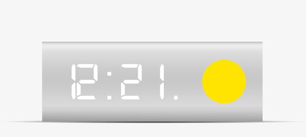 Klok - Alarm Clock by Robrecht Vanhauwere
