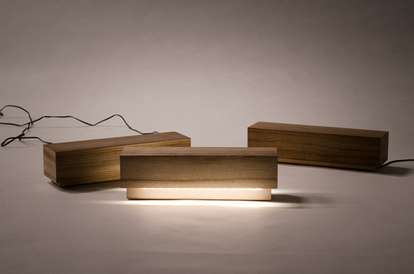 Log Lamp by Jari Nyman & Olli Mustikainen
