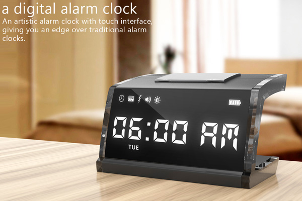 Electrifying Touchscreen Alarm Clock Yanko Design