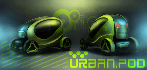 Urban Pod - Concept Vehicle by Paulo Encarnação