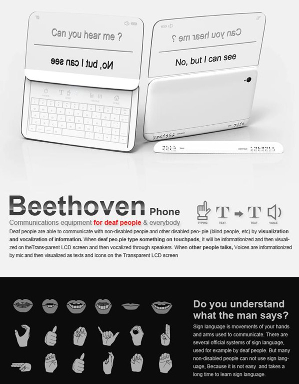 Beethoven Phone by Jong Soo Kim