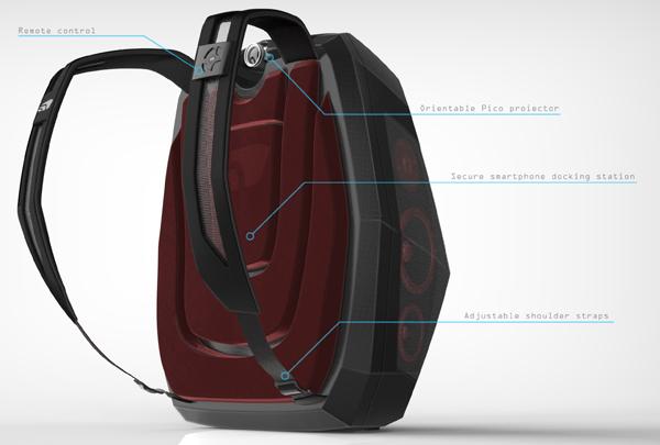 Ghetto Blaster Backpack - image boompack_04 on http://bestdesignews.com