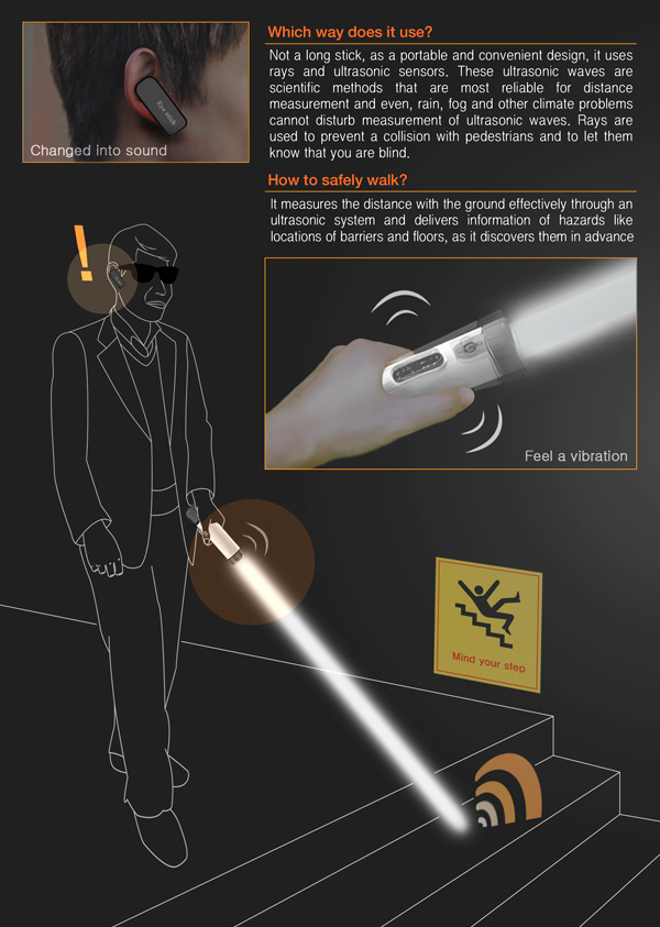 Light Saber Can For The Sight Impaired!