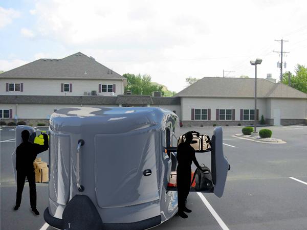 A roadie's wet dream - image  on http://bestdesignews.com