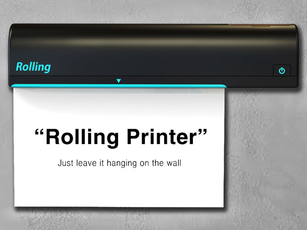 Rolling Printer by Kim Tae-Jin