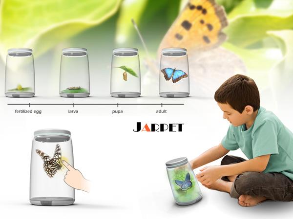 Jarpet – Interactive 3-D Pet by Zhang Di, Zhao Tianji, Ma Yinghui & Cui Minghui
