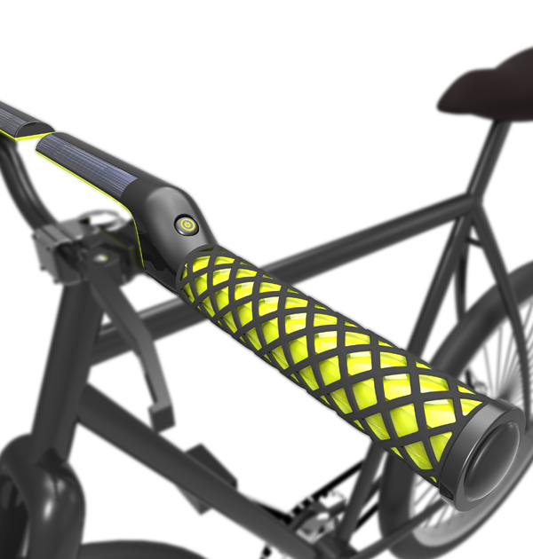 X-ing - Cooling & Heating Bicycle Grips by Jin Won Heo, Sung Jin Lim, Kyung Han Yoon, & Da Som Kim
