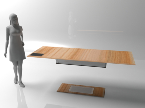 Magnetic Table of the Future by Yana Christiaens