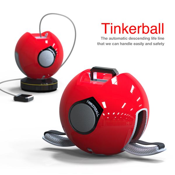 Tinkerball - Emergency Rescue Device by Jiyoung Choi & Namsun Do