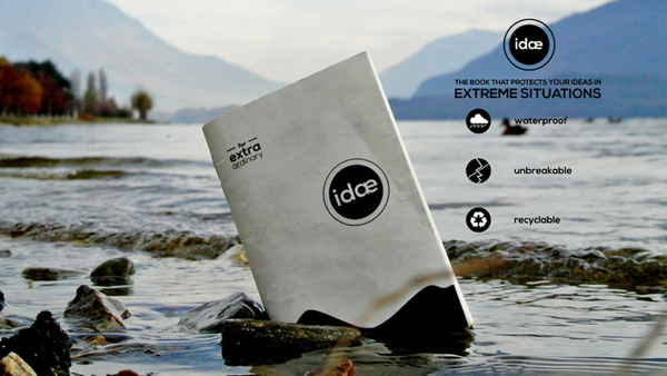 Idae - Extreme Sports Notebook by arcHITechts
