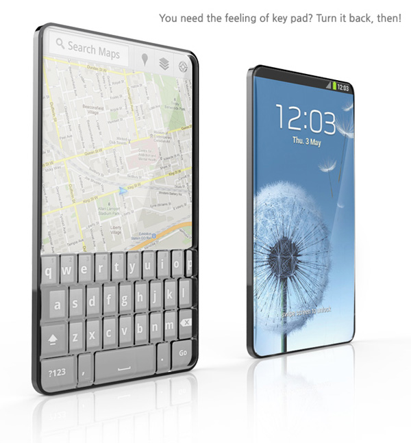 Bubble Phone Concept by Seunggi Baek