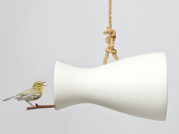 Nature Speaker – Bird Perch And Nest by Eun Ji Lee