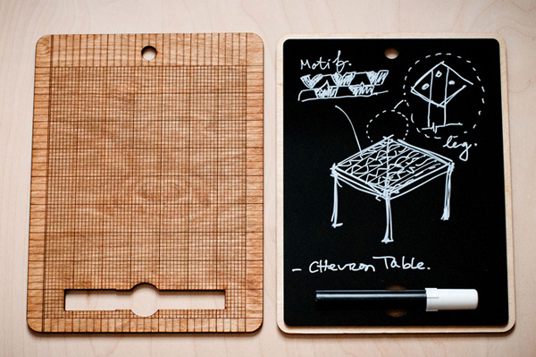 The Blackboard Tablet by Jonathan Dorthe