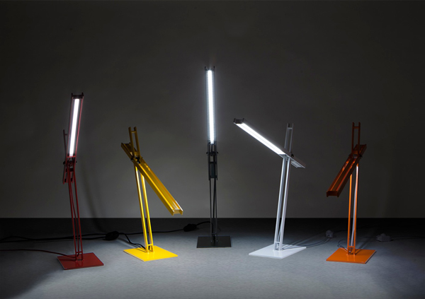 Cantilevered Desk Lamp by Taylor Donsker
