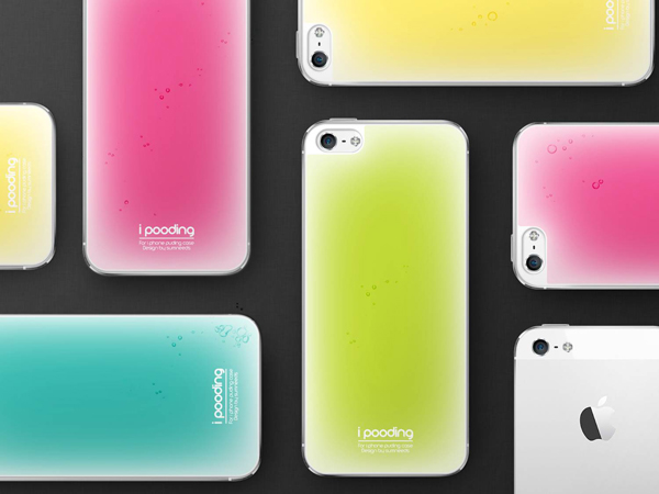 iPooding - Soft Grip Case by SUMNEEDS