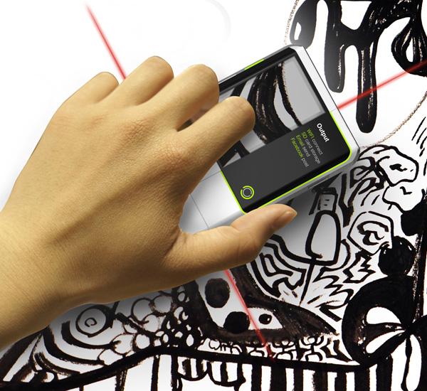 ES-X – Eraser Scanner Concept by Li Ke Wu