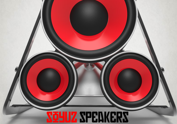 SOYUZ - Portable Speakers by Olavo Pena Monken